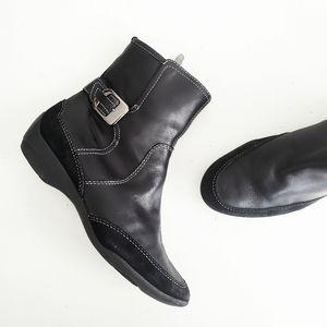 Circa Joan & David CJFresh Black Ankle Bootie